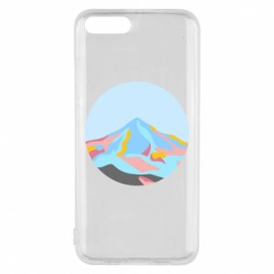 Phone case for Xiaomi Mi6 Mountains in a circle