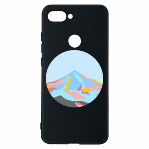 Phone case for Xiaomi Mi8 Lite Mountains in a circle