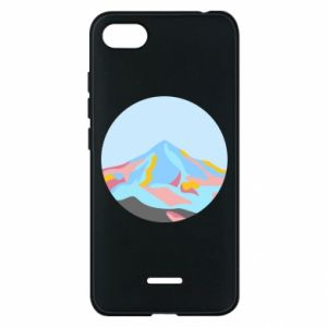 Phone case for Xiaomi Redmi 6A Mountains in a circle