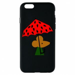 Etui na iPhone 6/6S Mouse under umbrella
