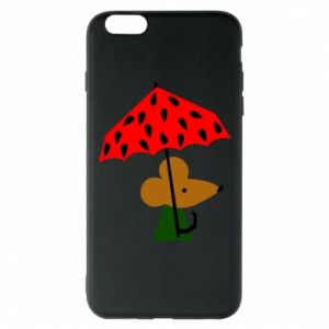 Etui na iPhone 6 Plus/6S Plus Mouse under umbrella