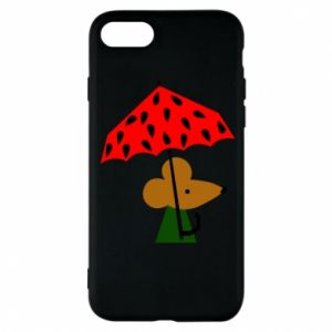 Etui na iPhone 8 Mouse under umbrella