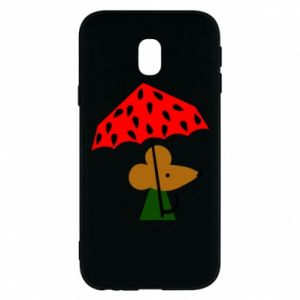 Etui na Samsung J3 2017 Mouse under umbrella