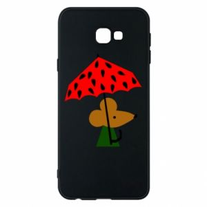 Etui na Samsung J4 Plus 2018 Mouse under umbrella