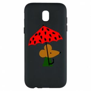 Etui na Samsung J5 2017 Mouse under umbrella
