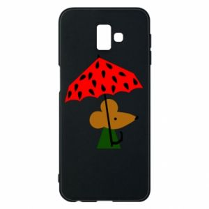 Etui na Samsung J6 Plus 2018 Mouse under umbrella