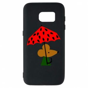 Etui na Samsung S7 Mouse under umbrella