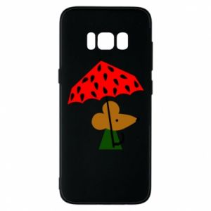 Etui na Samsung S8 Mouse under umbrella