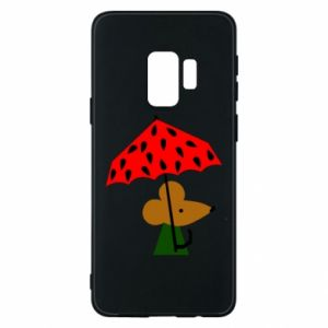 Etui na Samsung S9 Mouse under umbrella