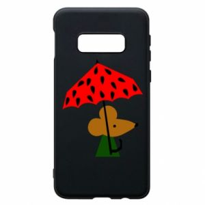 Etui na Samsung S10e Mouse under umbrella