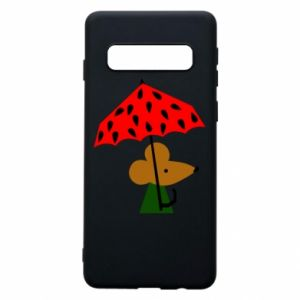 Etui na Samsung S10 Mouse under umbrella