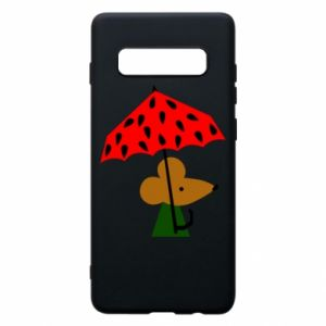 Etui na Samsung S10+ Mouse under umbrella