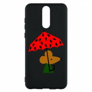 Etui na Huawei Mate 10 Lite Mouse under umbrella