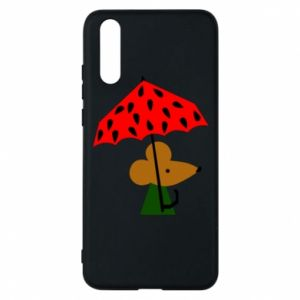 Etui na Huawei P20 Mouse under umbrella