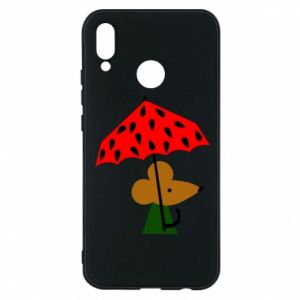 Etui na Huawei P20 Lite Mouse under umbrella