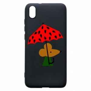 Etui na Xiaomi Redmi 7A Mouse under umbrella