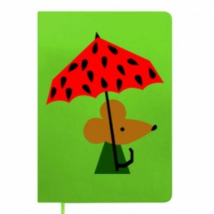 Notepad Mouse under umbrella
