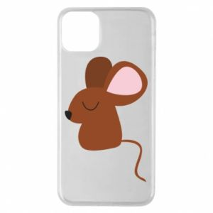 Phone case for iPhone 11 Pro Max Mouse with eyes closed - PrintSalon