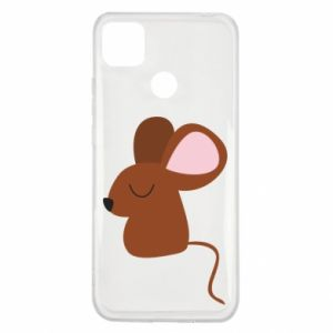 Etui na Xiaomi Redmi 9c Mouse with eyes closed