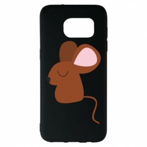Etui na Samsung S7 EDGE Mouse with eyes closed