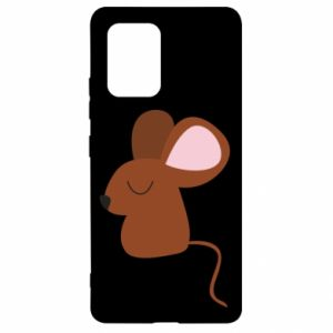 Etui na Samsung S10 Lite Mouse with eyes closed