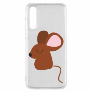 Etui na Huawei P20 Pro Mouse with eyes closed