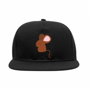 SnapBack Mouse with eyes closed - PrintSalon