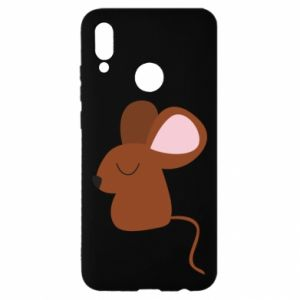 Etui na Huawei P Smart 2019 Mouse with eyes closed