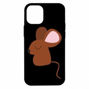 Etui na iPhone 12 Mini Mouse with eyes closed