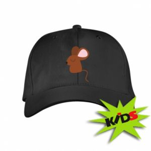 Kids' cap Mouse with eyes closed