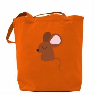 Bag Mouse with eyes closed