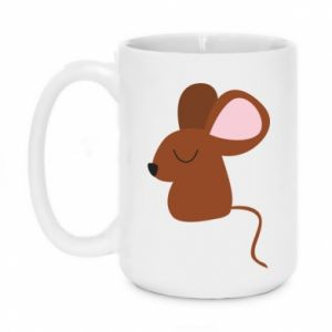 Mug 450ml Mouse with eyes closed