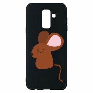 Etui na Samsung A6+ 2018 Mouse with eyes closed