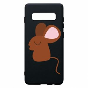 Etui na Samsung S10+ Mouse with eyes closed