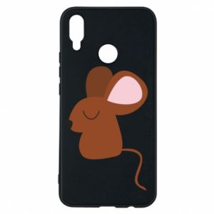 Phone case for Huawei P Smart Plus Mouse with eyes closed - PrintSalon
