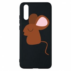 Phone case for Huawei P20 Mouse with eyes closed - PrintSalon