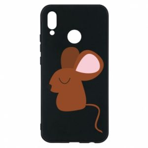 Phone case for Huawei P20 Lite Mouse with eyes closed