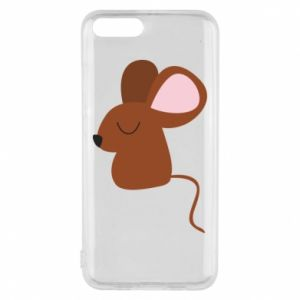 Phone case for Xiaomi Mi6 Mouse with eyes closed - PrintSalon