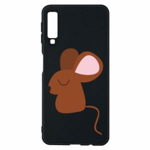 Phone case for Samsung A7 2018 Mouse with eyes closed