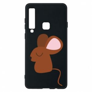 Phone case for Samsung A9 2018 Mouse with eyes closed