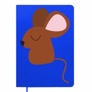 Notepad Mouse with eyes closed