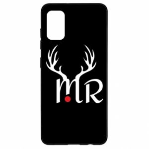 Samsung A41 Case Mr deer
