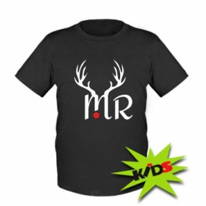 Kids T-shirt Mr deer