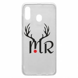 Phone case for Samsung A20 Mr deer