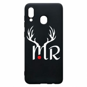 Samsung A30 Case Mr deer