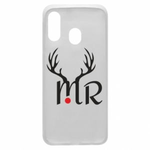 Samsung A40 Case Mr deer