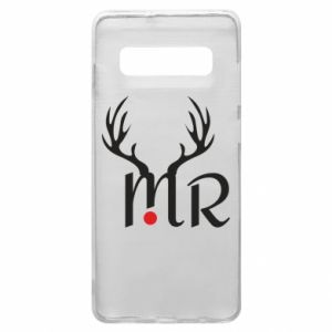 Samsung S10+ Case Mr deer