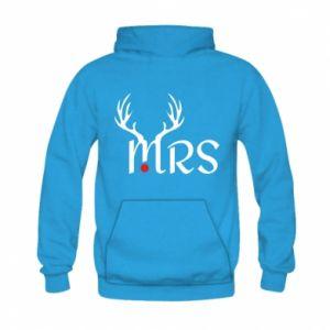 Kid's hoodie Mrs deer