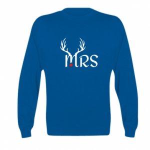 Kid's sweatshirt Mrs deer