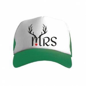 Kid's Trucker Hat Mrs deer
